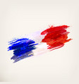 french national flag vector image
