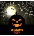 Happy halloween party festival vector image vector image