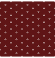 red ethnicrussian regular seamless pattern vector image vector image