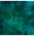 Dark Green Watercolor Pattern vector image