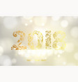 new year calendar label vector image