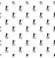 biathlon pattern seamless vector image vector image