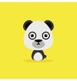 Cute Cartoon Wild panda vector image vector image