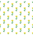 flat yellow flowers seamless pattern vector image