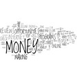 is there money for you online text background vector image vector image
