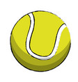 tennis sport ball image vector image vector image