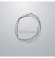 wire frame vector image vector image