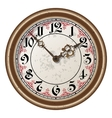 Ancient clock vector image vector image