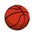 basketball sport ball image vector image vector image