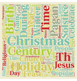 Christmas Article 48 text background wordcloud vector image vector image