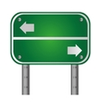 name of place traffic sign icon vector image vector image