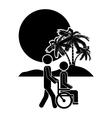 people walking design vector image vector image