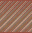 vintage striped diagonal seamless pattern vector image