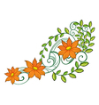 A nice decoration vector image vector image