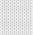Brick wall seamless pattern classic vector image