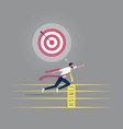 business success concept-take action for success vector image