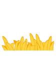 french fries roasted potato chips in deep fat fry vector image
