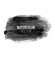 Painted watercolor stain vector image
