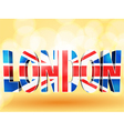 3d london union jack vector | Price: 1 Credit (USD $1)