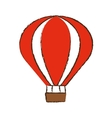 airballoon recreation vacation travel color sketch vector image