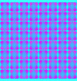 blue diamonds of purple stars on the hearts of vector image vector image