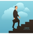 Career business conceptual with vector image