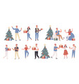 new year party christmas celebration vector image vector image