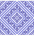royal tile pattern vector image vector image