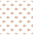 Spiral pattern cartoon style vector image