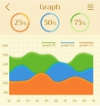 Abstract business colorful infographic elements