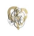 be mine - hand lettering inscription text on vector image vector image
