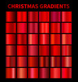 christmas gradients vector image vector image