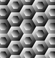 Optical with hexagon vector image vector image