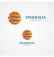 sphere logo vector image