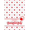 valentines card with the inscription vector image