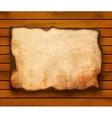 wooden paper 3 vector image