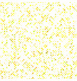 yellow seamless dot pattern background - design vector image vector image