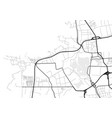 abstract city map in black and white