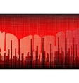 Blood City Grunge vector image vector image