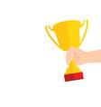 business goal achievement concept flat style vector image
