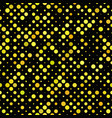 geometric dot pattern background - repeating vector image vector image