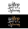 hand lettering christmas quote vector image