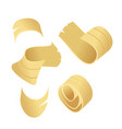 sawdust icon yellow carpenter woodworking cut vector image vector image