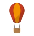 airballoon transport hot gas travel vector image
