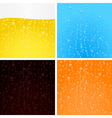 drinks backgrounds collection vector image