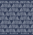 ethnic geometric seamless pattern vector image vector image