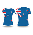 Flag shirt design of New Zealand