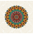 Mandala Vintage decorative elements background vector image vector image