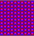 purple diamonds of blue stars on dark hearts in a vector image vector image