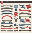 Ribbons pack vector image